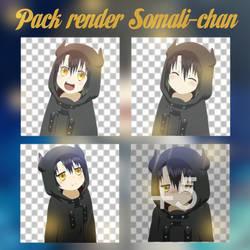 Pack render Somali-chan