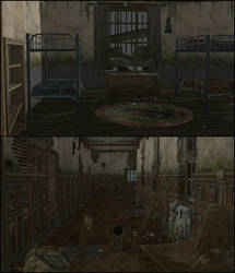 Boarding School Dorm - The Walking Dead TFS