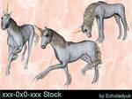 Unicorns pack of 3