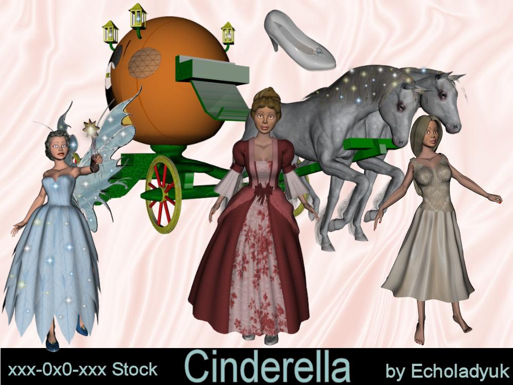 Fairy Tales - Cinderella by xxx-0x0-xxx