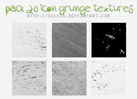 20 icon textures - Grunge [Set 11] by Fulsia