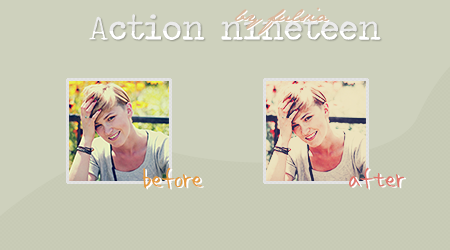 Action 19 - You were. by Fulsia
