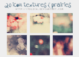 20 icon textures - Prairies of my Heart [Set 14] by Fulsia