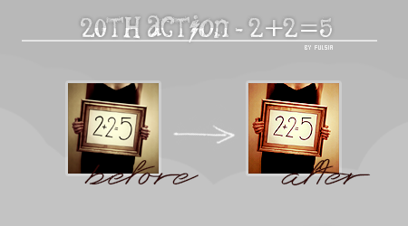 Action 20 - 2+2=5 by Fulsia