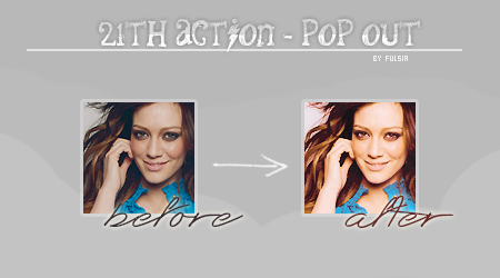 Action 21 - Pop Out by Fulsia