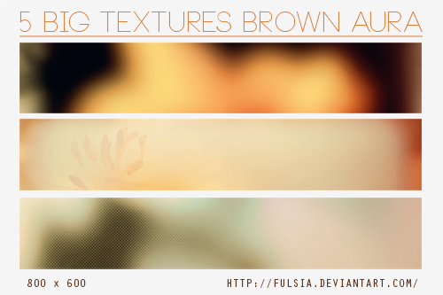 6 Big Textures - Brown Aura [Set 15] by Fulsia