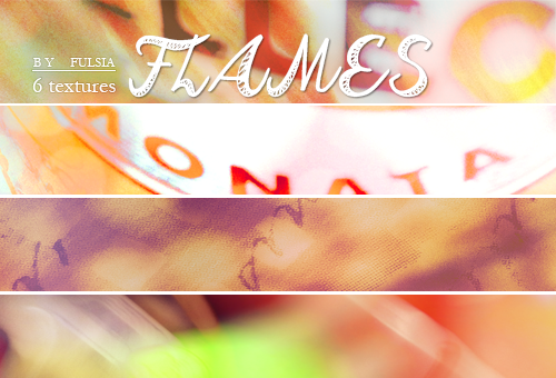 6 Textures - Flames by Fulsia