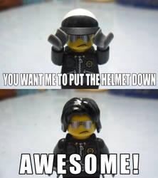 Awesome Bad Cop by DarkblazerNX