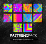 Neon Patterns Pack