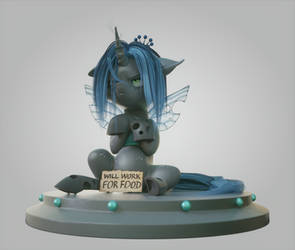 Young queen Chrysalis by V747