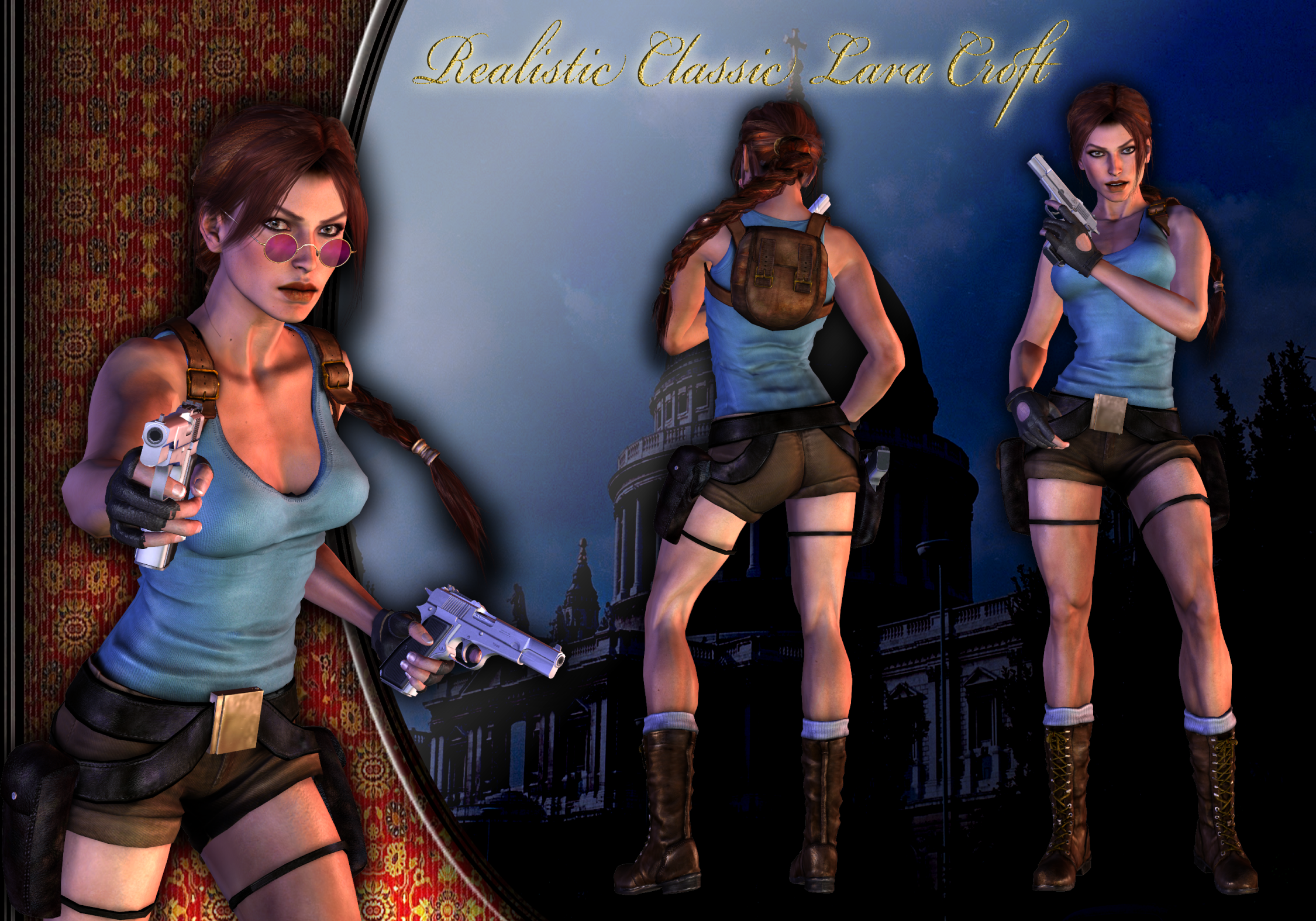 Lara croft nude raider gif and 3d  nude pictures