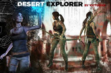 Lara Croft ~ Desert Explorer {ROTTR} by ViCt0RXD