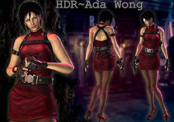 {HDR} Series ~ Ada Wong by ViCt0RXD