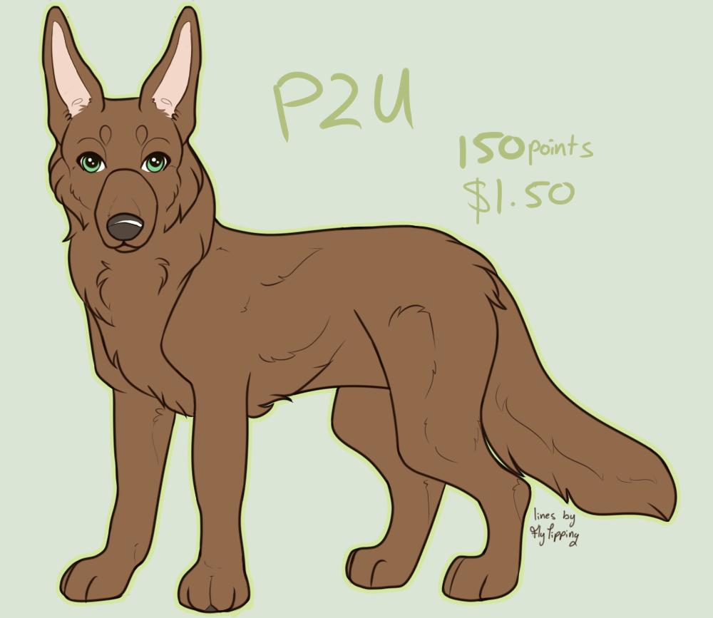 P2U Adopt Base - Generic Shepherd