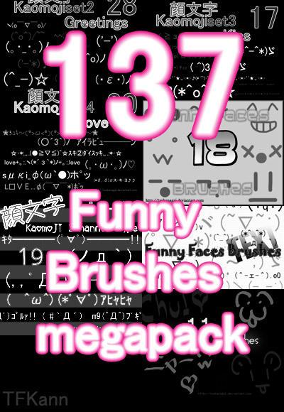 137 Funny Brushes megapack by TFKann