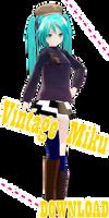 Appearance Vintage Miku [DOWNLOAD]