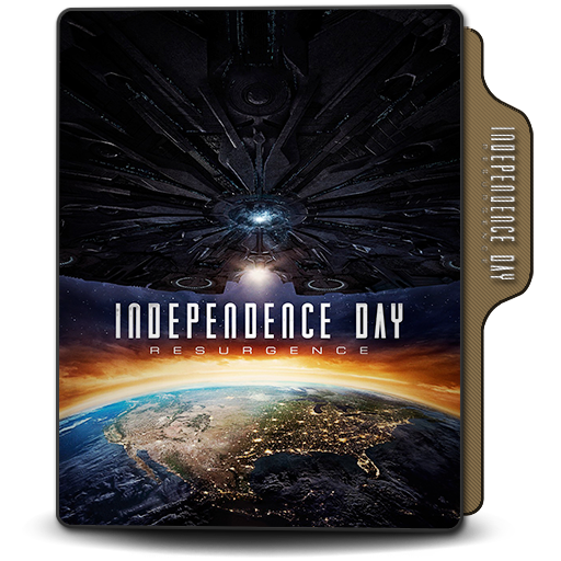 Folder Icon Independence Day Resurgence 2016 By Dstroyers On Deviantart