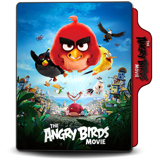 Folder Icon The Angry Bird Movie 2016 By Dstroyers On Deviantart