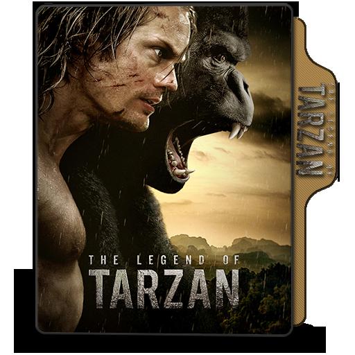 Folder Icon The Legend Of Tarzan 2016 By Dstroyers On Deviantart