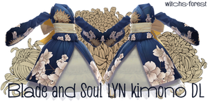 [MMD] Lyn kimono form blade and soul by witchs-forest