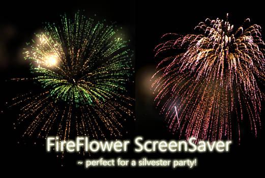 FireFlower screensaver