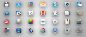 Yosemite style OS X icons by TigerCat-hu on DeviantArt