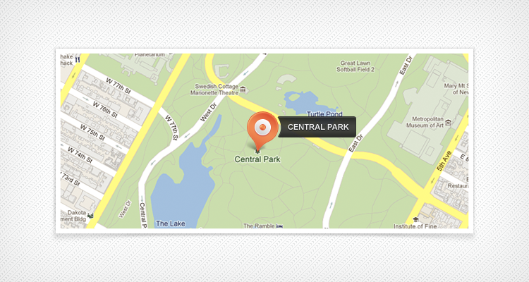Free PSD Map Pin