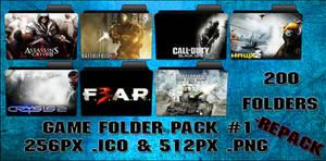 Game Folder Pack 1 200 Folders by floxx001