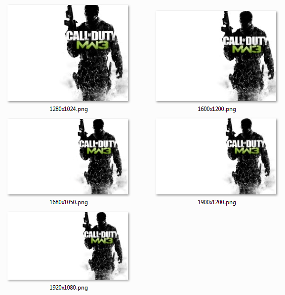 Call of Duty MW3 Wallpaper 2 by floxx001