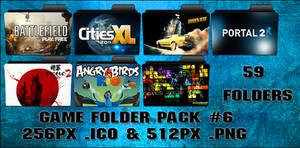 Game Folder Pack 6 59 Folders by floxx001