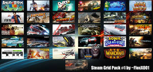 Steam Grid Icons by floxx001