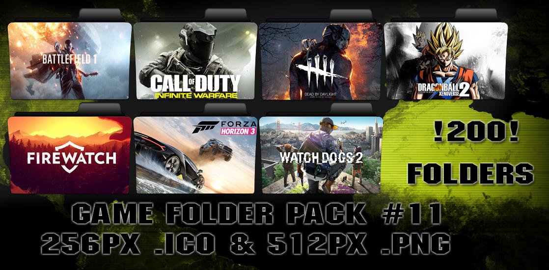 Game Folder Pack #11 by floxx001 by floxx001 on DeviantArt