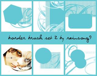 Border Brush Set 2 by LoveMetal666