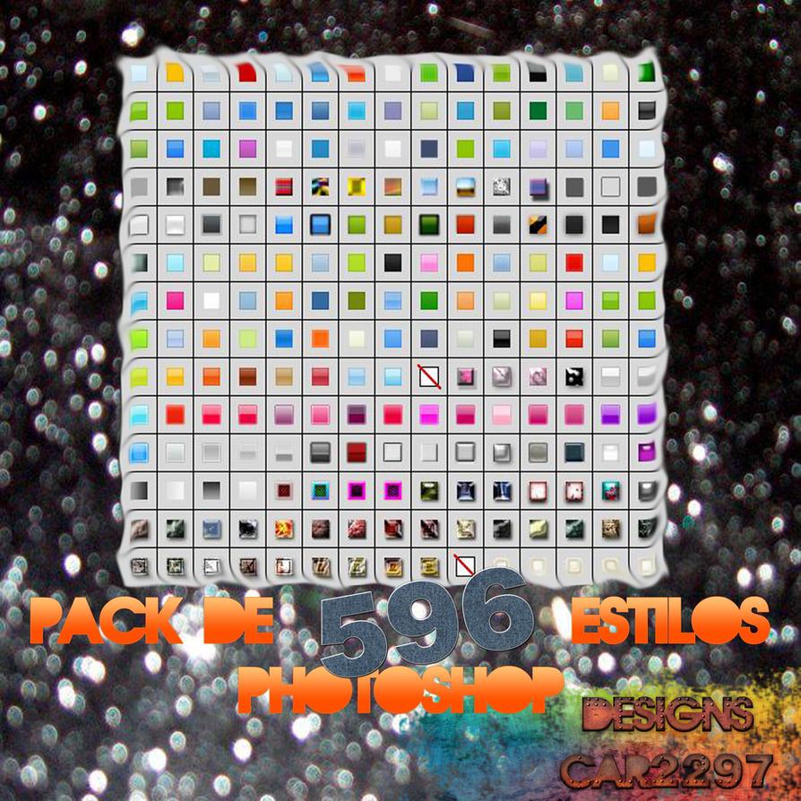 Pack 596 Estilos Potoshop CS5 by car2297
