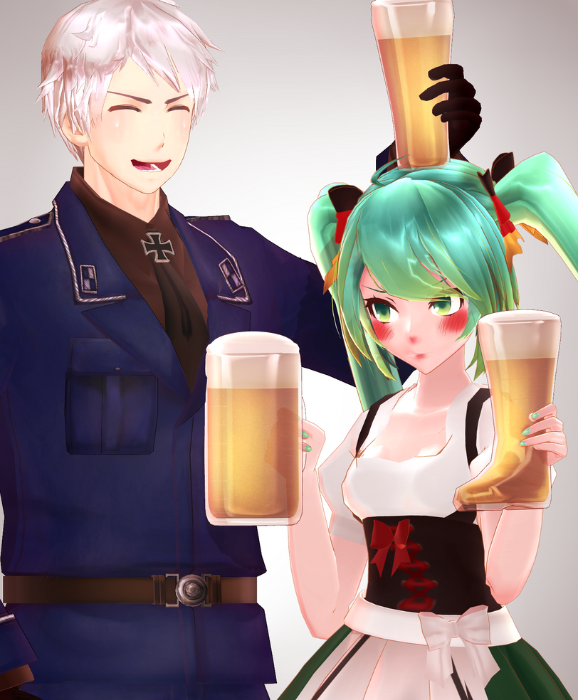 [MMD] Beer DOWNLOAD by Swatmare
