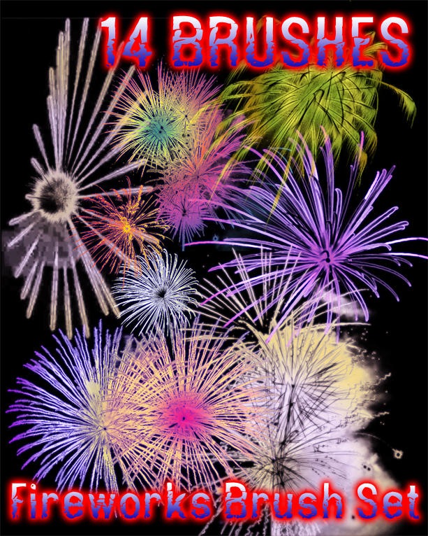 Fireworks Brushes by dslmwgraves
