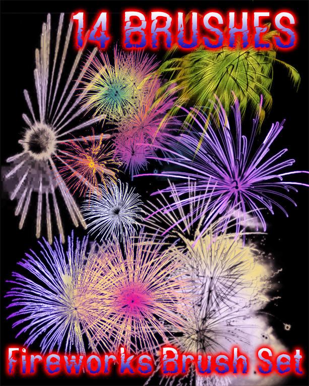 Fireworks Brushes by dslmwgraves