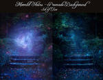 Moonlit Stairs - Two Premade Backgrounds