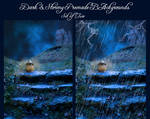 Dark and Stormy Night - Two Premade Backgrounds