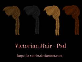 Victorian Hair - PSD by la-voisin