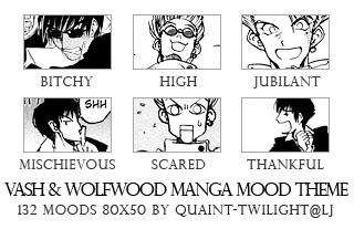 Vash and Wolfwood Mood Theme by melfangiel