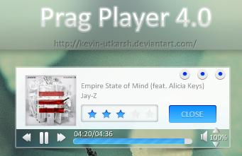 Prag Player 4.0 by kevin-utkarsh
