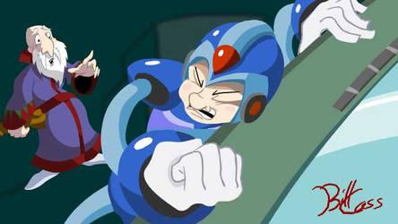 WIP: Mega Man X vs Mr. Roboto by Hock