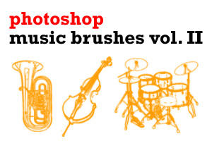 Music Brushes Vol. II by scolz