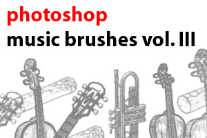 Music Brushes Vol. III by scolz