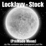 Moon Stock PSD