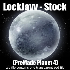 Planet Four PSD by LockJavv-Stock