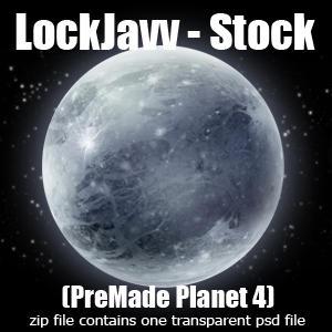 Planet Four PSD by LockJavv-Stock