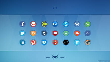 Social Media Icons 2 by alpercakici
