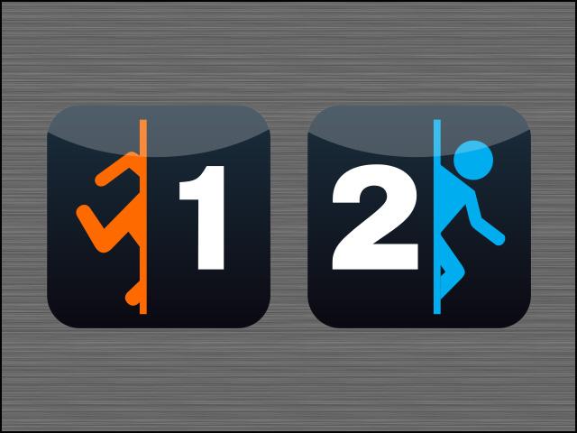 Portal HD Icons by Nidrax